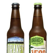 Drake's Brewing Co. label redesign