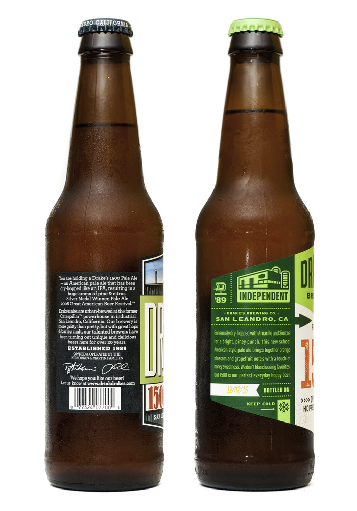Drake's Brewing Co. label redesign 3