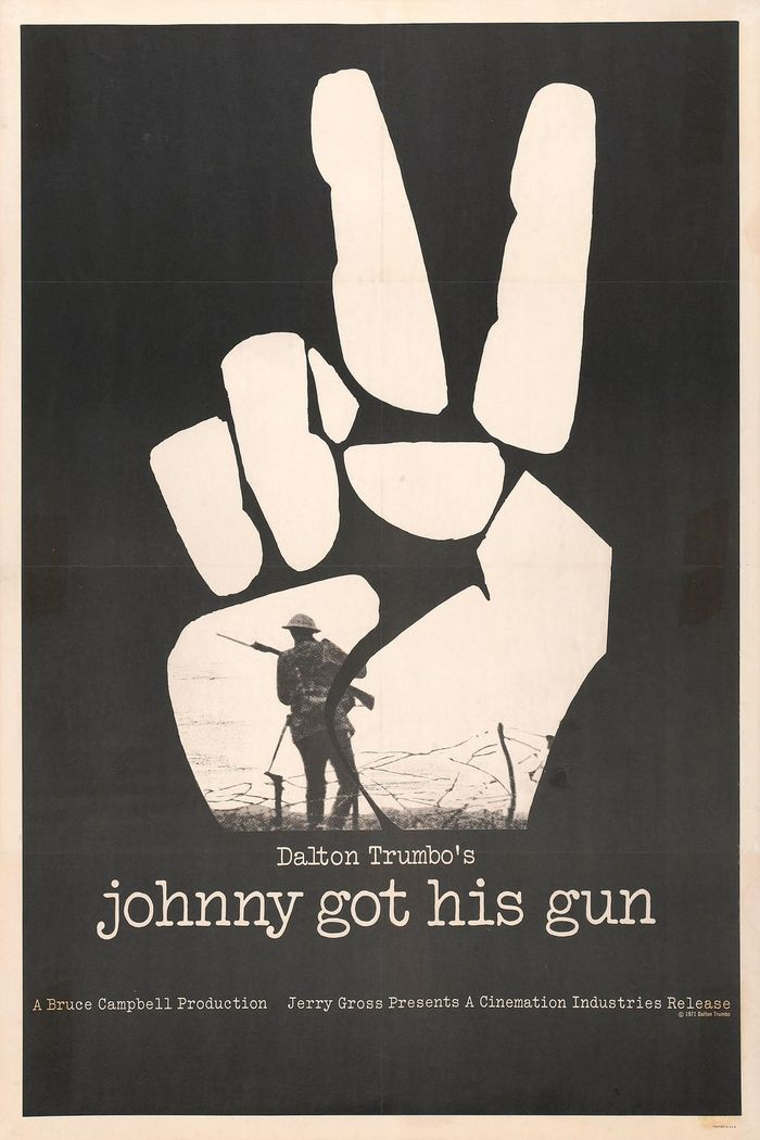 Johnny Got His Gun (1971) movie poster