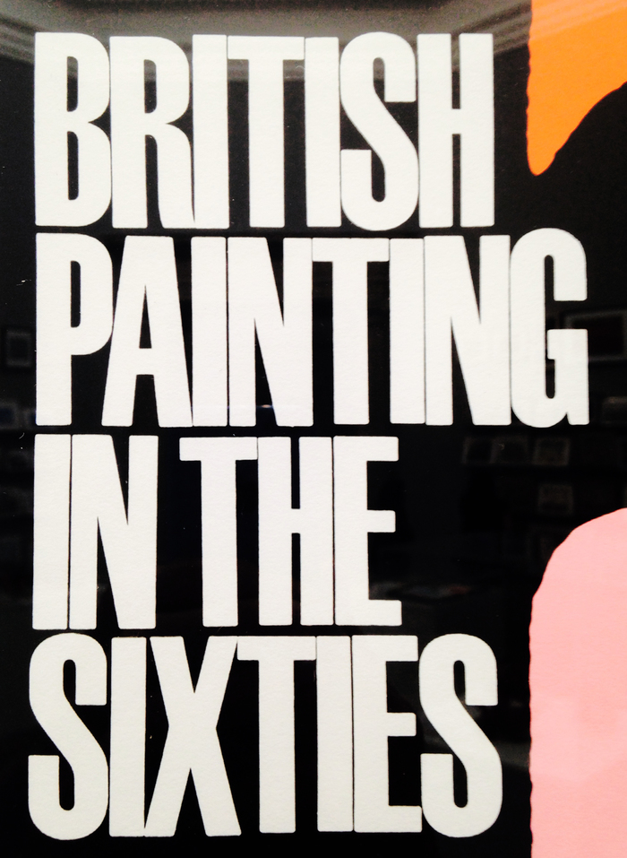 British Painting in the Sixties poster 2
