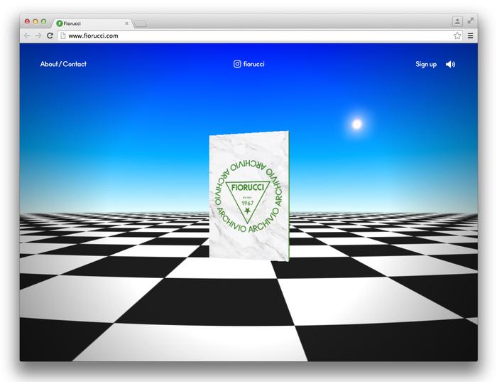 Fiorucci Archivio website 1
