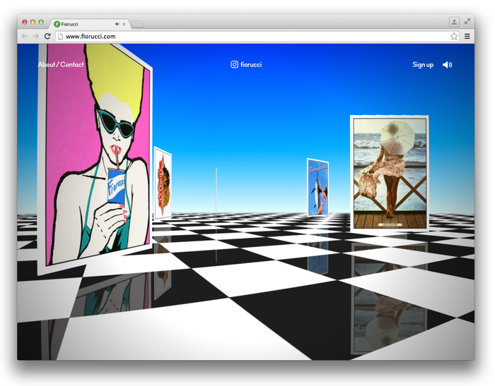 Fiorucci Archivio website 4