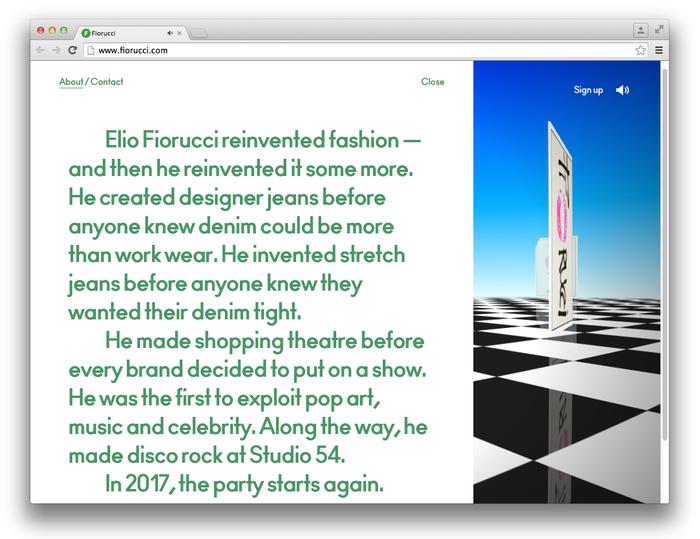 Fiorucci Archivio website 5
