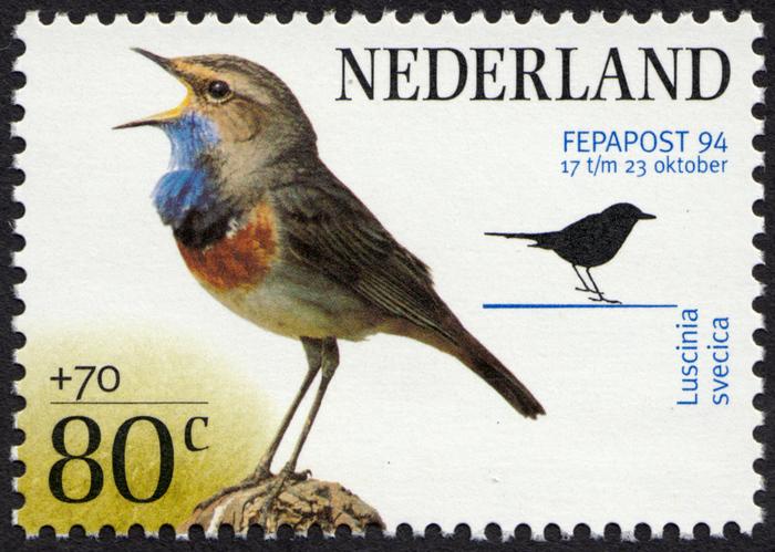 FEPAPOST 94 bird stamps 2