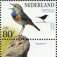 FEPAPOST 94 bird stamps