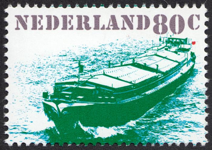 """""""Verkeer en vervoer"""" – Dutch transportation stamps 3"""