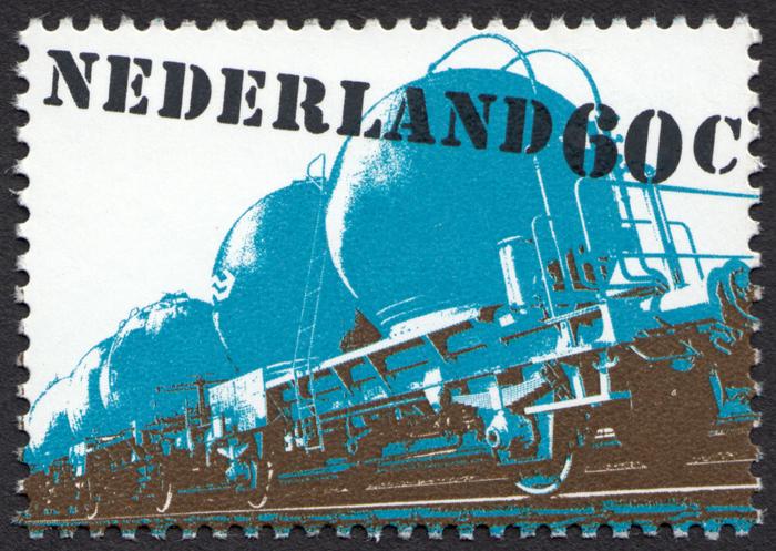 """""""Verkeer en vervoer"""" – Dutch transportation stamps 2"""