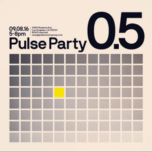 Pulse Party invite