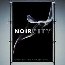 Film Noir festival identity