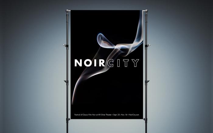 Film Noir festival identity 1