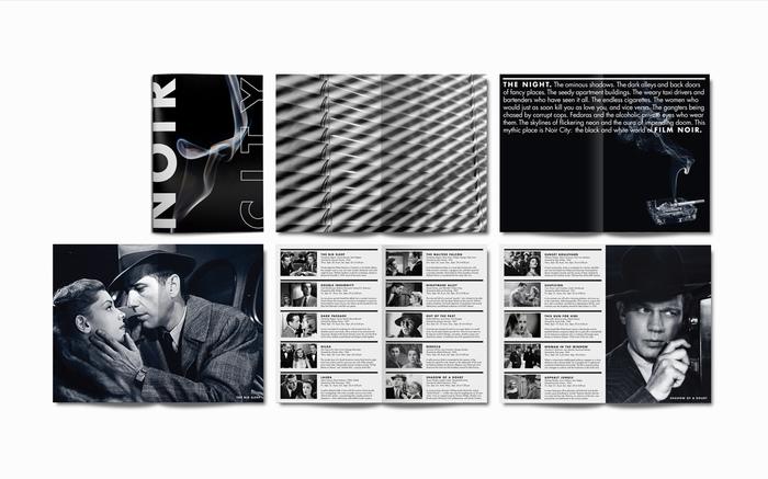 Film Noir festival identity 3
