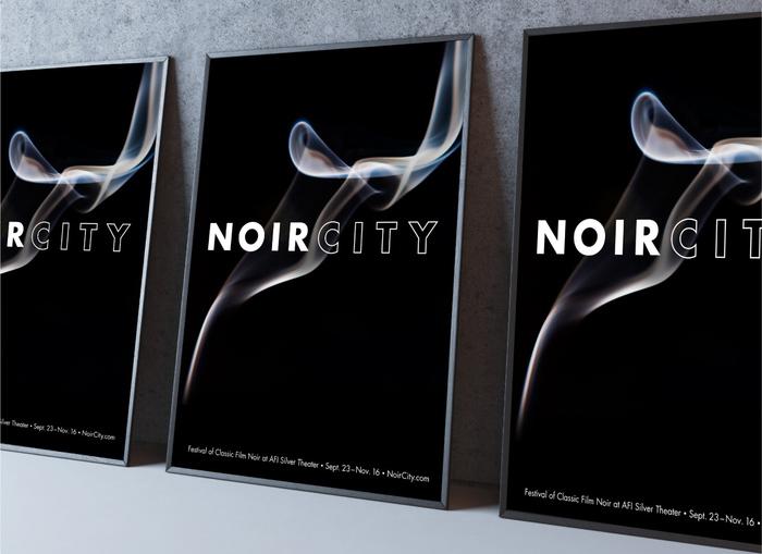 Film Noir festival identity 7
