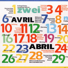 Deutsche Welle 1993 calendar