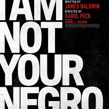 <cite>I Am Not Your Negro</cite> film promotional material