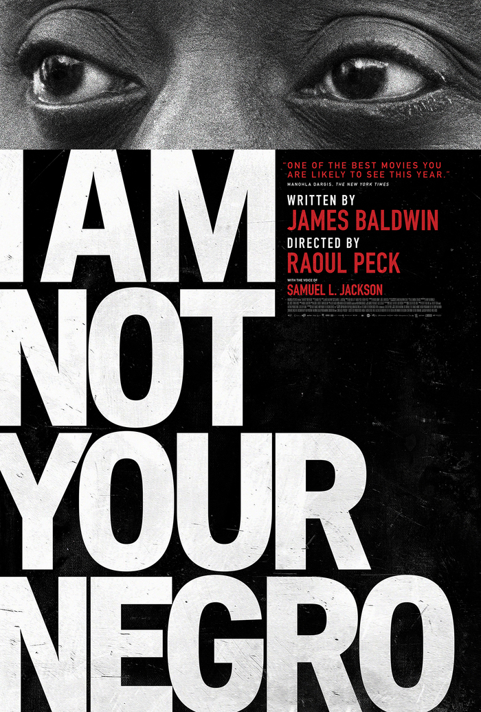 I Am Not Your Negro film promotional material 1