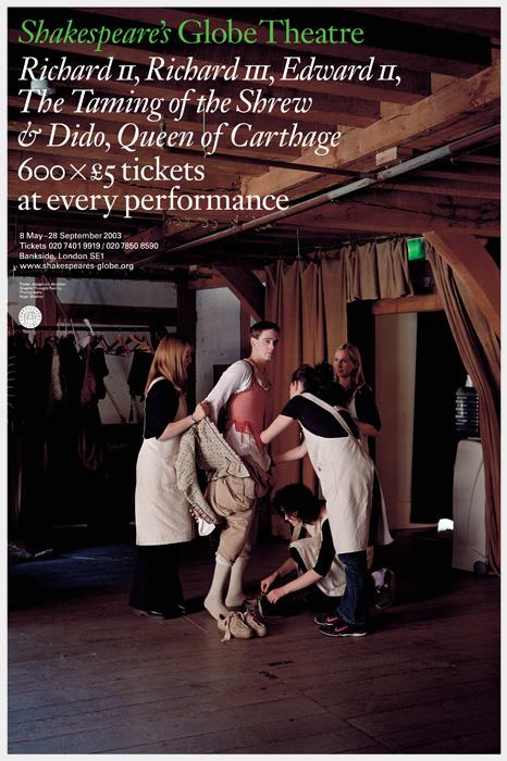 Shakespeare's Globe Theatre 2003 season 1