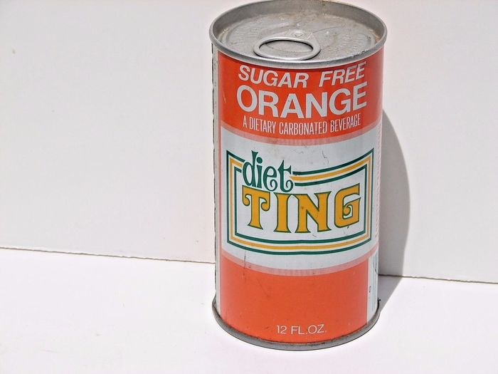 Ting soda cans 1