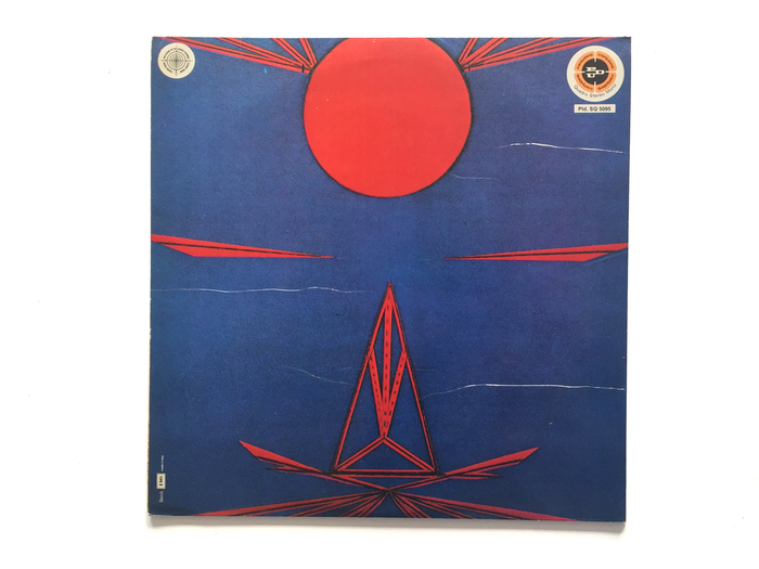 """Back cover of the PDU release. """"Platten Durcharbeitung Ultraphone"""" is an """"Italian label based in Switzerland that in the 1970s imported the sound of the German Cosmic Couriers on the Italian market"""". — Discogs"""