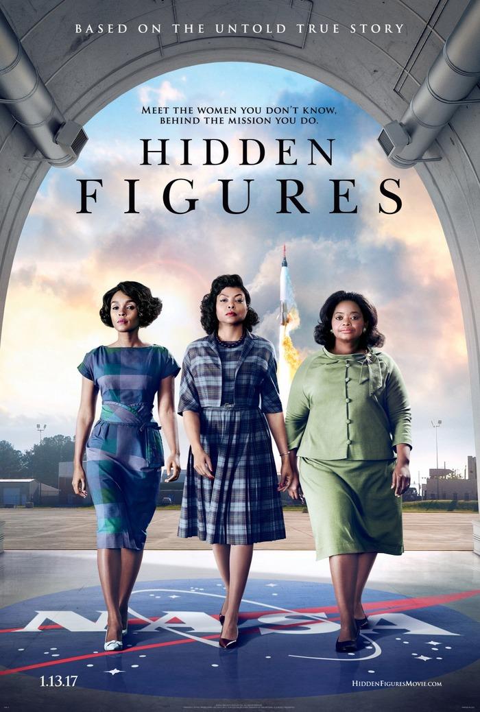 Hidden Figures movie poster 1