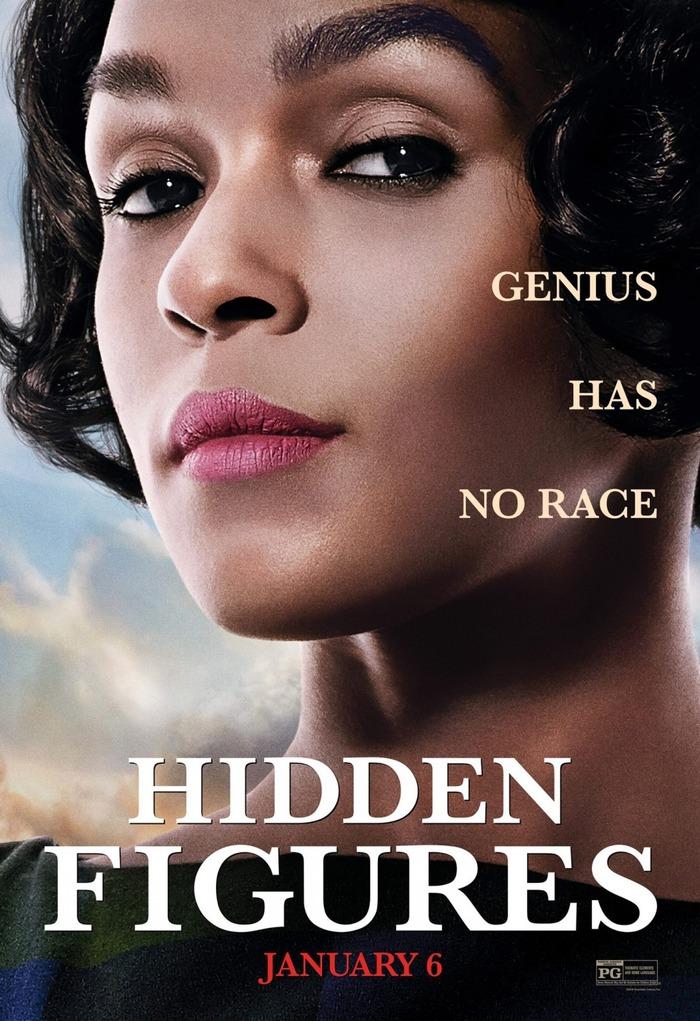 Hidden Figures movie poster 2