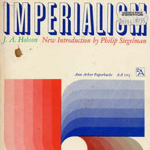 <cite>Imperialism</cite>, by J. A. Hobson, Ann Arbor Paperbacks edition
