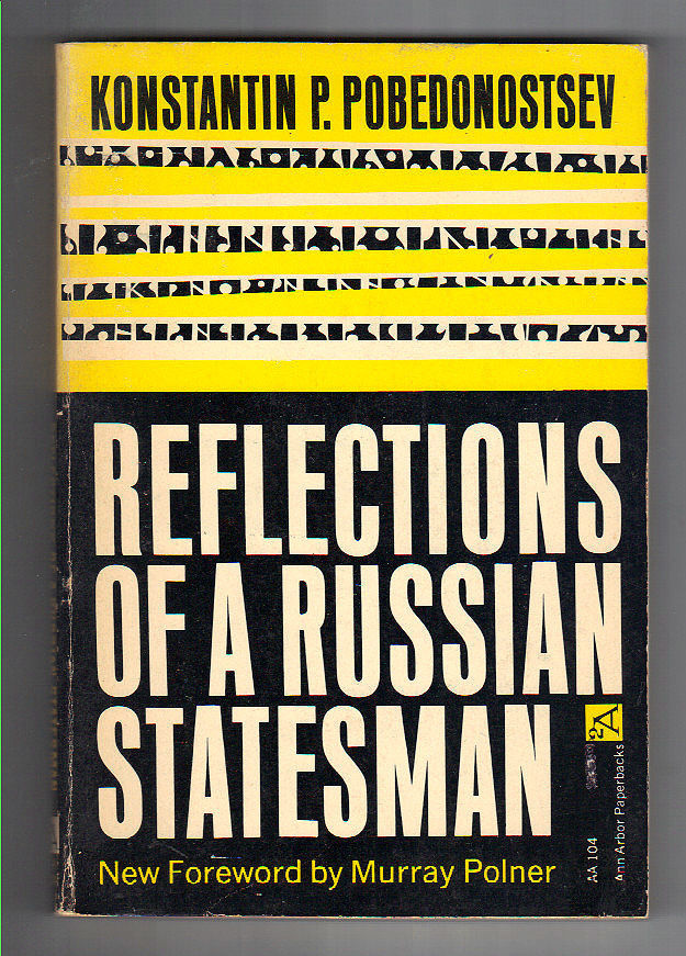 Reflections of a Russian Statesman, Ann Arbor Paperbacks edition
