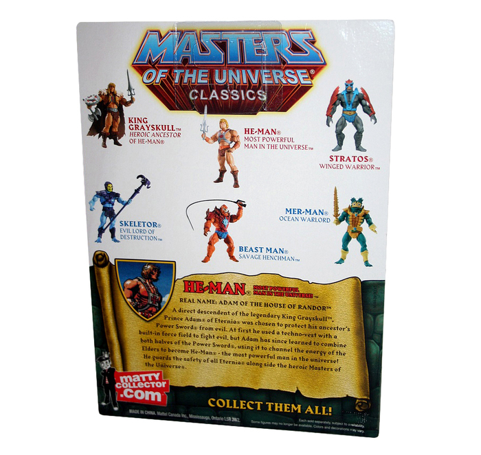 Masters of the Universe Classics action figures 6