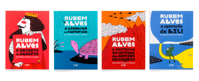 Rubem Alves series covers