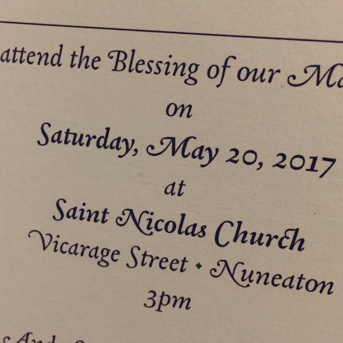 Joe & Jo wedding blessing invitation 4