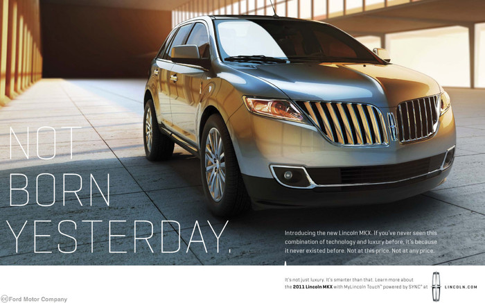 Lincoln Motor Co. marketing (2010) 1