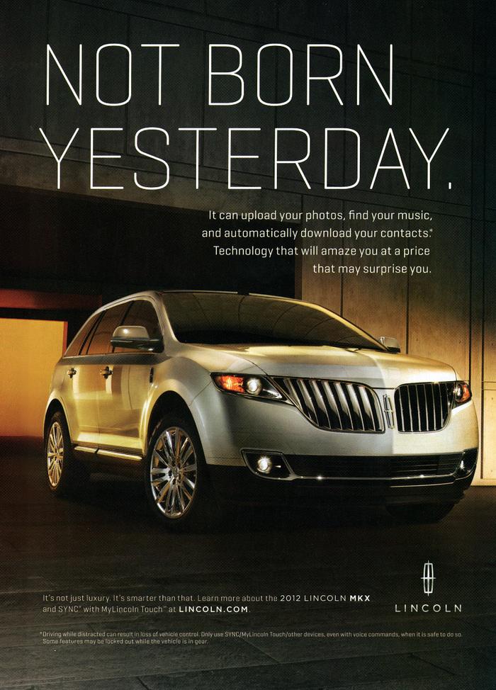 Lincoln Motor Co. marketing (2010) 7