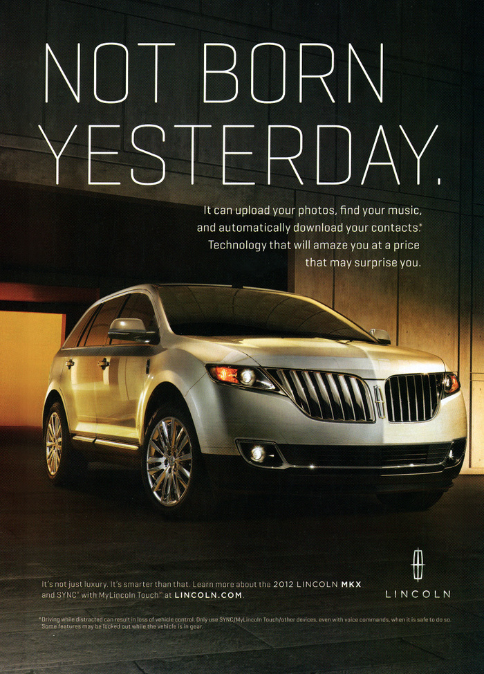 Lincoln Motor Co. marketing (2010) 7