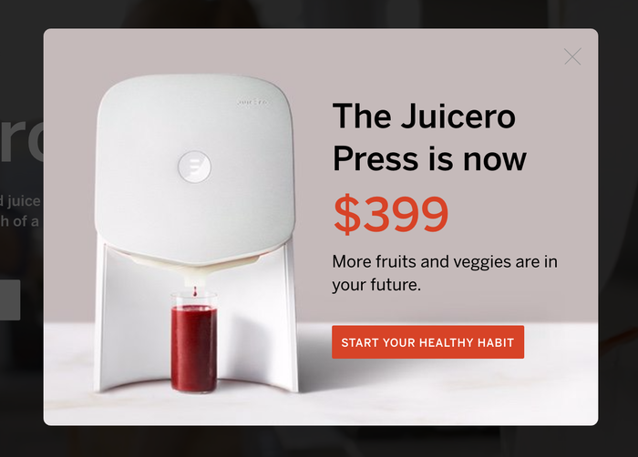 Juicero website 5