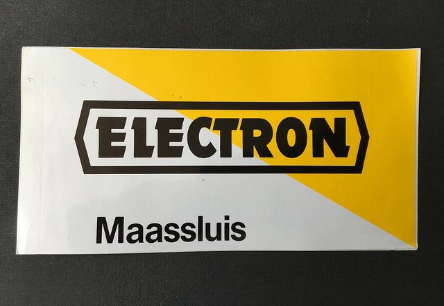 Electron, Maassluis logo sticker