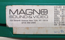 Magno Sound & Video and Magno Video logos