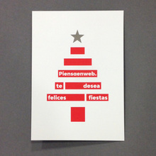 Piensaenweb Christmas card