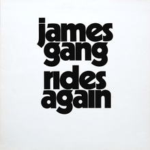 James Gang – <cite>Rides Again </cite>album art