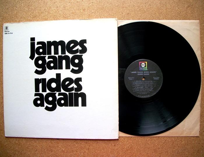 James Gang – Rides Again album art 2