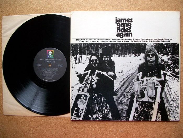 James Gang – Rides Again album art 3