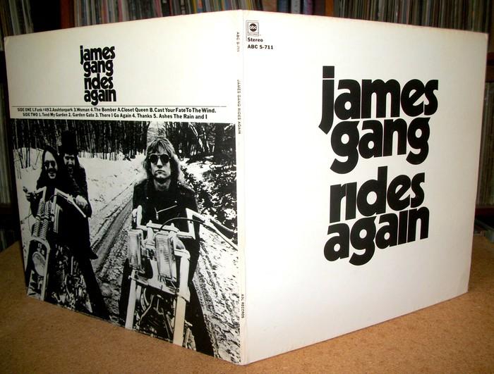 James Gang – Rides Again album art 4