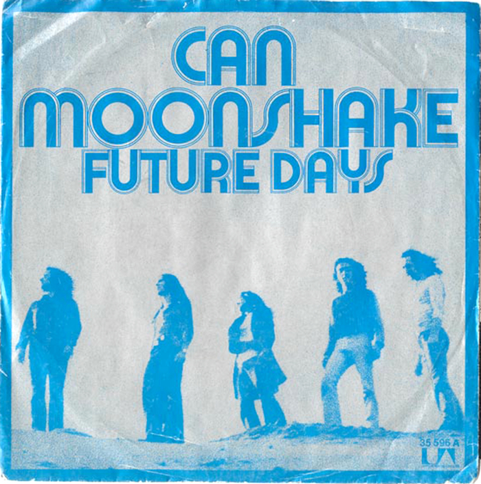 """Can – """"Moonshake"""" / """"Future Days"""" single cover"""