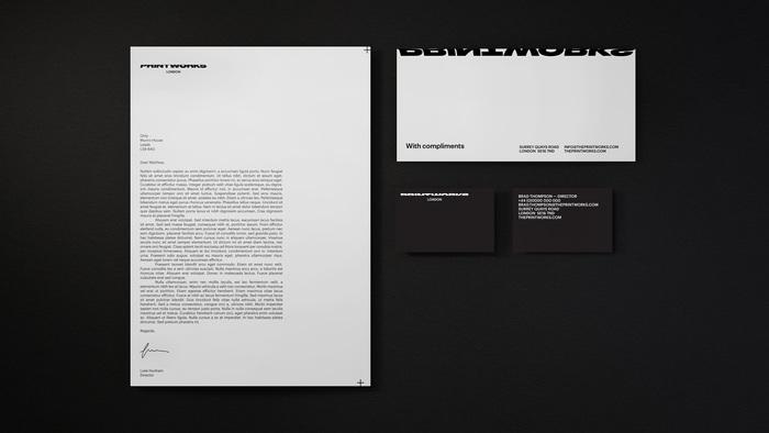 Printworks London brand identity 4