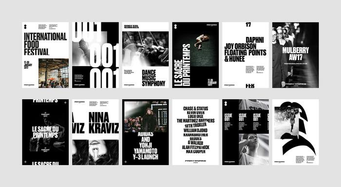 Printworks London brand identity 7