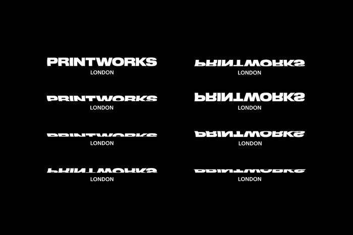 Printworks London brand identity 2