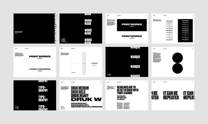 Printworks London brand identity 11