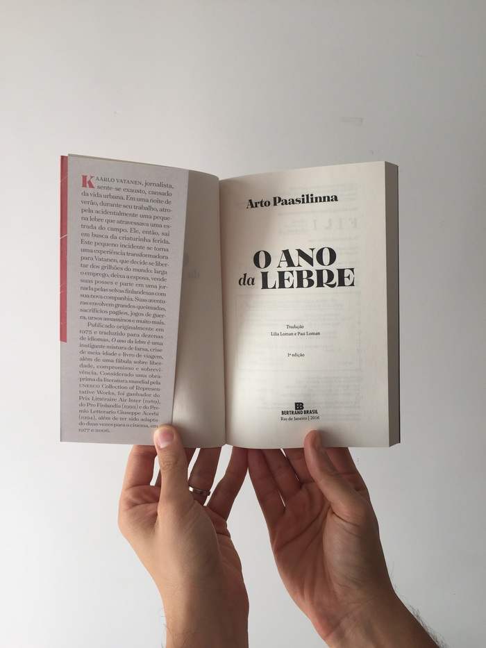 O Ano da Lebre by Arto Paasilinna 2