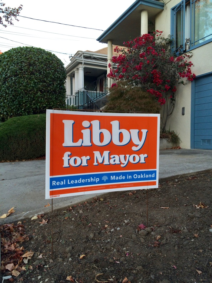 Lawn sign spotted by Frank Grießhammer.