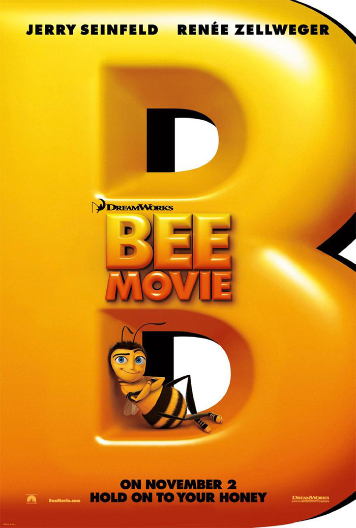 Bee Movie movie poster