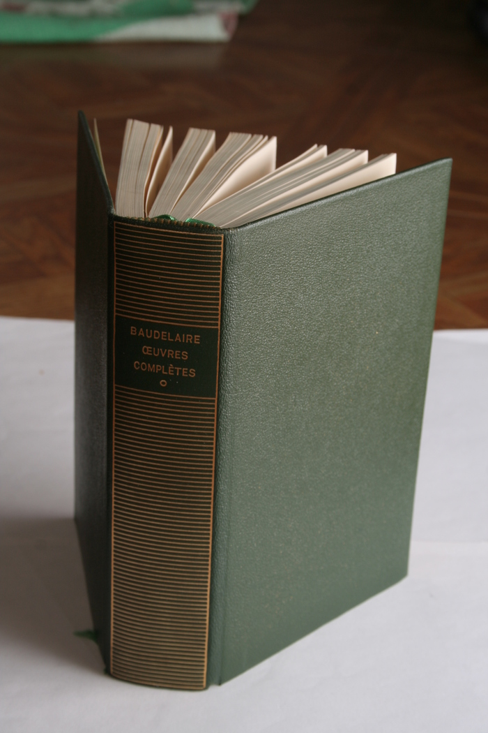 Fun fact: Although the Bibliothèque de la Pléiade has always been considered a reference work, the first ever published volume ironically contained poems falsely attributed to Baudelaire. Pascal Pia, renowned today for his involvement in the French Resistance during World War II, had forged unpublished manuscripts which went unnoticed by the responsible scholar.