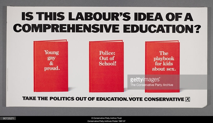 1987 poster from the Conservatives.